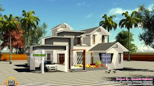 195 square meter slop roof house kerala home design bloglovin u0027
