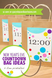 bag new year new year s countdown bag ideas free printables spaceships