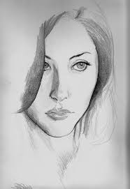 how to learn pencil drawing sketch faces pencil depression google