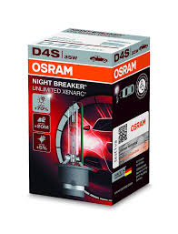 amazon com osram d4s night breaker unlimited xnb xenon hid bulb