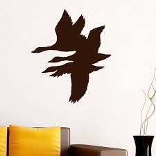 Duck Home Decor Zooyoo Flying Duck Wall Decal Stickers Duck Home Decor Room