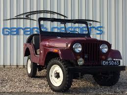 jeep kaiser occasion kaiser jeep benzine 1964 rood verkocht garage caspers