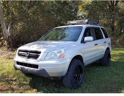 honda truck lifted lifted honda pilot off road roof rack lifted hondas pinterest