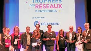 chambre commerce rennes trophées les réseaux d entreprises récompensés par la cci de rennes