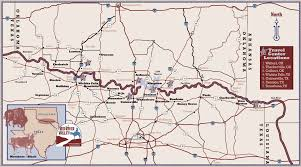 Map Of Oklahoma State by Red River Valley