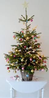 xmas tree on table top 40 pastel decoration ideas for christmas christmas celebration