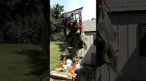 halloween express halloween decorations halloween express dead pumpkin on swing prop 36 inches 3 feet