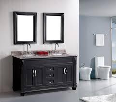 Bathroom Double Sink Vanity Ideas Cabinet Silkroad Exclusive 90 Double Sink Modern Bathroom Vanity