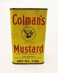coleman s mustard colman s mustard blue ridge vintage
