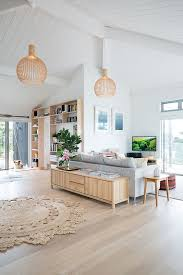 the light wood flooring and furniture goes beautifully with the