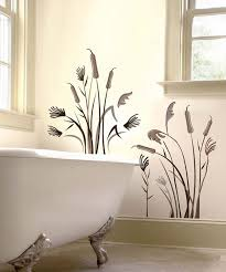 brown cattail wall decal set daily deals for moms babies and