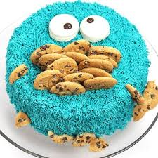 25 cookie monster cakes ideas easy cake
