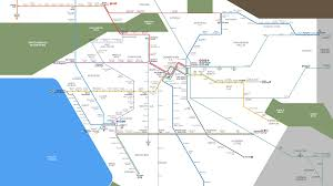 La Metro Bus Map by Watch Metro Rail Grow Under Measure M Urbanize La