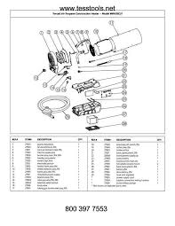 fan forced wall heater parts mr heater hero mh35clp parts parts list and diagram