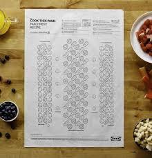 Genial Application Recette De Cuisine Génial Ikea Lance Des Recettes De Cuisine Sur Du Papier Cuisson