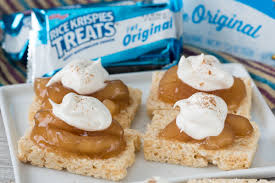 rice krispies treats easy apple pies crazy for crust