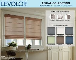 Levolor Roman Shades - levolor custom shades now available in new colors patterns and
