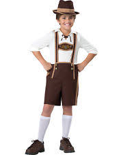 Hansel Halloween Costume Lederhosen Costume Children Ebay