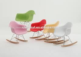 chaise à bascule eames vente à bascule eames chaise pour enfants tabouret enfant id de
