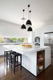 Kitchen Island Bench Ideas by Elegant Meals Area In The Kitchen Supplemented By Square Island