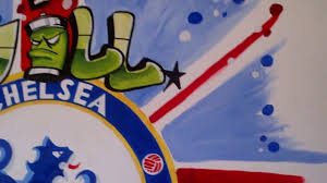 chelsea fc mural and graffiti union jack by drews wonder walls chelsea fc mural and graffiti union jack by drews wonder walls