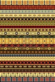 tappeto etnico 14493217 tappeto etnico con motivi africani i tesori alla
