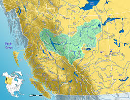 Canada On A Map Orange River Map