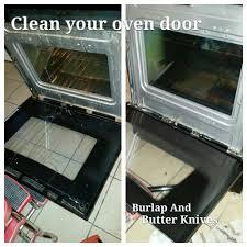 clean oven glass door how to clean inside your oven door it u0027s easier than you think