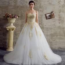 gold dress wedding white and gold wedding dresses naf dresses