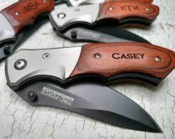 personalized pocket knife custom knife etsy