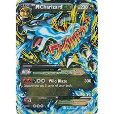 amazon black friday deals for pokemon packs amazon com mega m charizard ex xy flashfire 13 106 rare holo