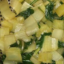 cuisiner des cotes de blettes les côtes de bettes à la voironnaise