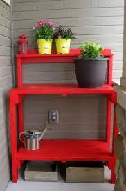 50 best potting bench design ideas to make gardening work easy