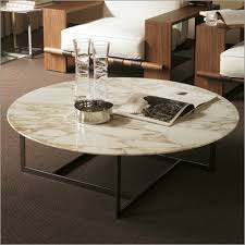 round stone top coffee table 10 inspirations of round marble coffee tables and end tables