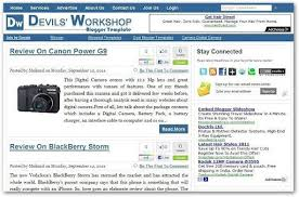 templates for blogger for software free seo friendly adsense ready blogger template devil s workshop