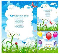 Birthday Card Ai Summer Postcard Designs Vector Free Stock Vector Art