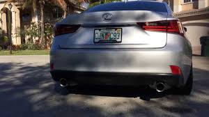 lexus is 250 for sale craigslist 2014 lexus is 350 f sport exhaust system part 1 youtube