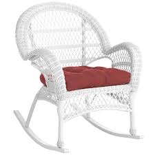 white wicker rocking chair modern chairs design