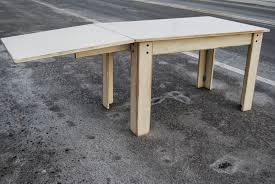 how to make a drop leaf table dropleaf table supports project ideas pinterest drop leaf
