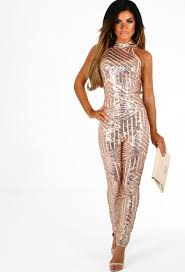 gold jumpsuit glam and glow gold sequin jumpsuit pink boutique
