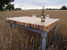 Wood Patio Table Reclaimed Pallet Wood Dining Table Best Gallery Of Tables Furniture