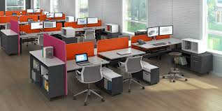 Modern Office Furniture Bahn A Comprehensive Offering Of Open - Open office furniture