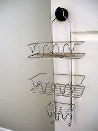 bathroom exciting bathroom storage design with iron corner shower