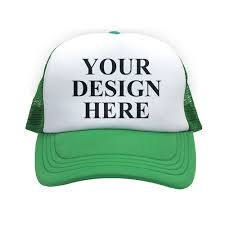 design your own custom trucker hats and caps using your own