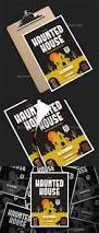 haunted house party flyer by bigmidin graphicriver