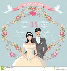 wedding backdrop design template wedding invitation frame template stock vector illustration