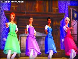barbie musketeers usa nintendo wii rom u0026 iso download