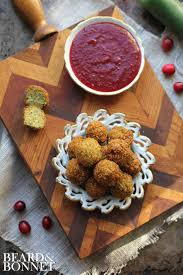 thanksgiving poppers with cranberry jalapeno dipping