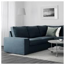 canapé d angle méridienne kivik canapé d angle 6 places avec méridienne hillared bleu foncé