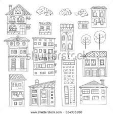 tropical trees crossword collection of doodle houses trees and